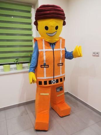 KLOCEK LEGO Chodząca Żywa Maskotka Kostium Reklamowy Promocyjny Strój