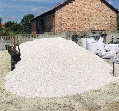 BIAŁA MARIANNA Biały Kamień w Workach na Opaskę Rabaty Grys Źwir 8-16