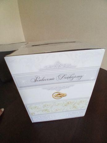 Pozostałości ślubne: pudełko na koperty