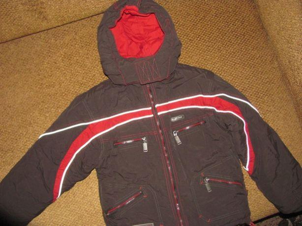Тёплая куртка пуховик со съёмной жилеткой, ля мальчика, зимняя куртка