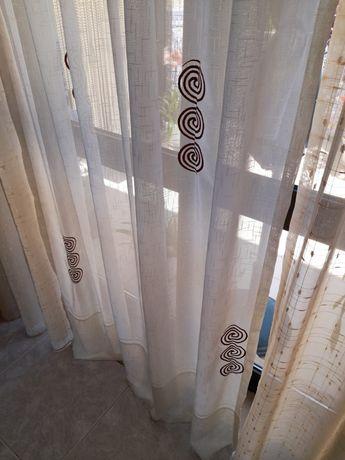 Conjunto de 3 cortinas