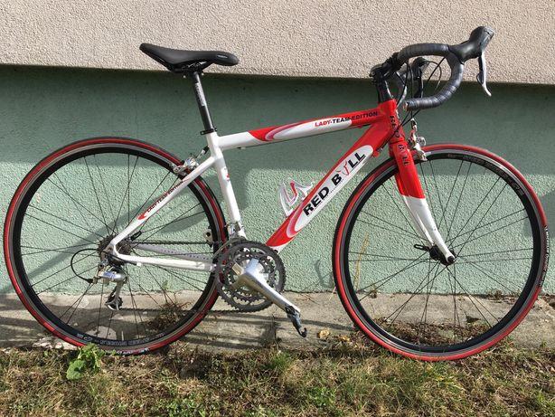 Piękny damski rower szosowy Rose RedBull. 9kg. Ultegra