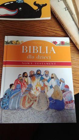 Biblia dla dzieci. Nowy Testament.