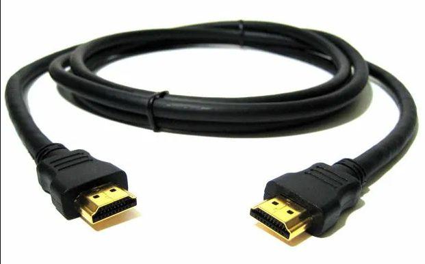 Cabo HDMI 1,5mt para ligar PC a TV, só utilizado 1 vez