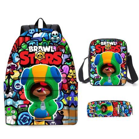 Рюкзак, сумочка, пенал с Brawl Stars (3 в 1)