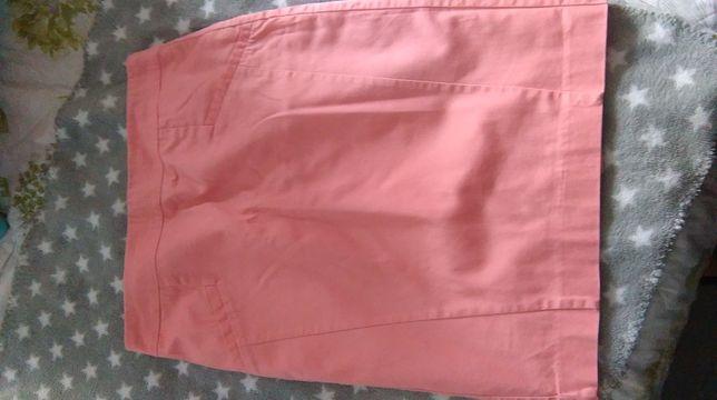 Spódnica ołówkowa różowa pudrowy róż 36 S Orsay