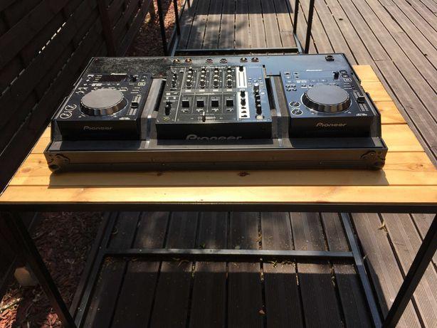 Konsola Pioneer : 2x CDJ-350 + DJM-750 + Case