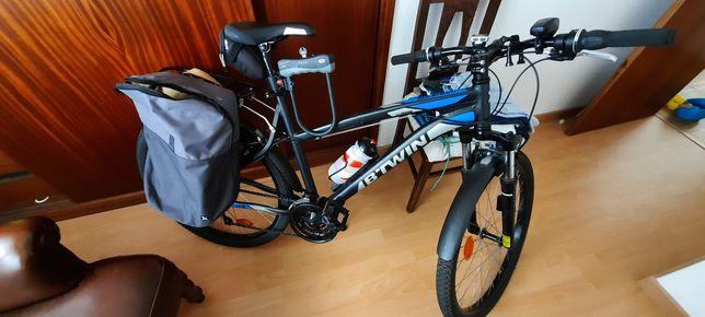 Bicicleta rockrider 340 full extras