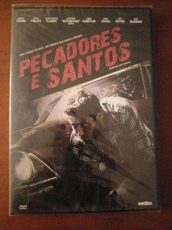 DVD Pecadores e Santos