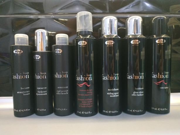 Lisap fashion kosmetyki fryzjerskie do włosów zestaw komplet Eco spray