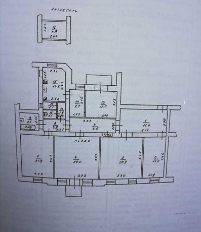Квартира большой площади  Внизу офисы АГВ  Центр  Срочная продажа