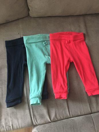 Spodnie Next 6-9 miesięcy