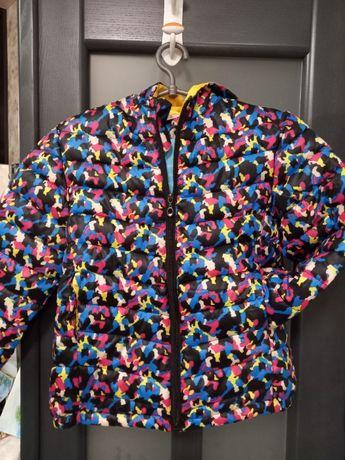 Новая демисезонная (весна-осень) куртка для девочки, р.130.