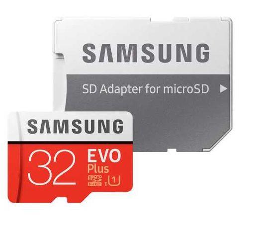 Карта памяти SAMSUNG microSDHC 32GB EVO PLUS UHS-I