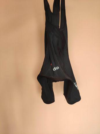 DHB bib shorts bibsy spodenki na rower rowerowe wkładka MTB szosa