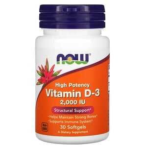Витамины Now Foods, витамин D3  имунитет АнтиКовид!