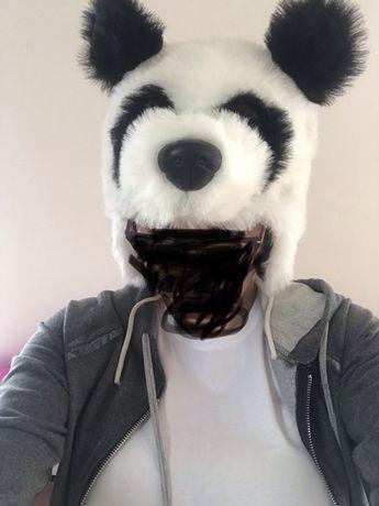 Czapka Panda rozmiar L