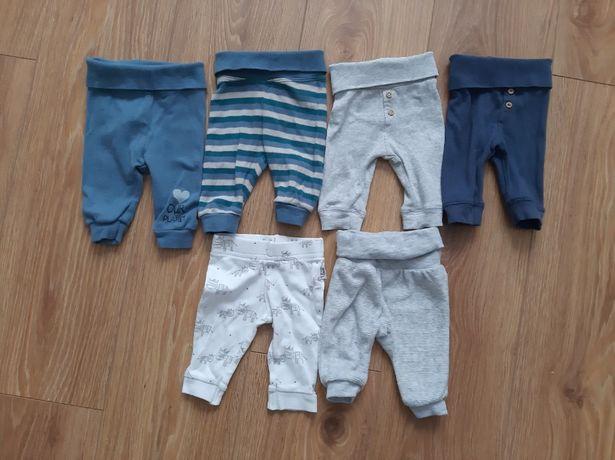 Spodnie niemowlęce rozmiar 56 8zł/szt