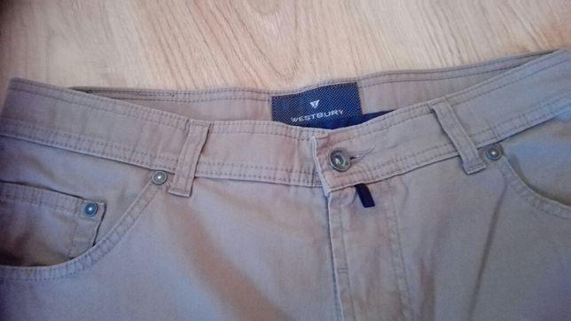 Spodnie meskie rozmiar 36/ 32 bezowe Westbury