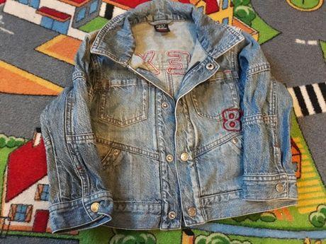 Kurtka jeansowa NEXT, kurtka wiatrówka 92