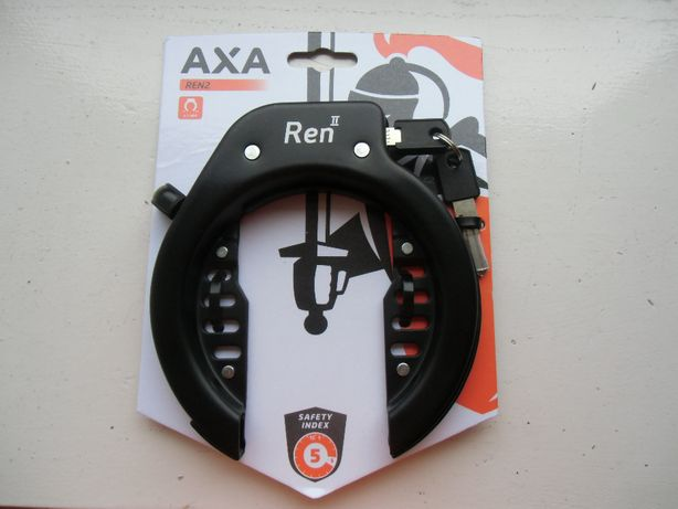 """Podkowa Holenderska AXA """" REN II """" do zamykanie roweru"""