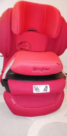 CYBEX juno 2-fix fotelik czerwony bezpieczny z osłoną!