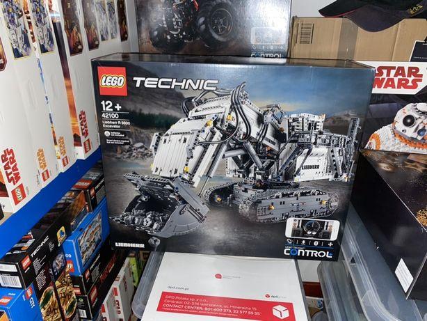 Lego 42100 Technic Koparka Liebherr R9800 Lego Nowe