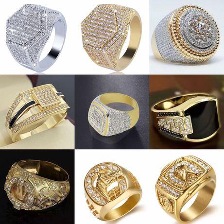 Мужская, женская печатка, перстень, кольцо с полудрогоценными камнями