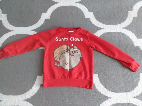 Bluza czerwona świąteczna 152 Reserved
