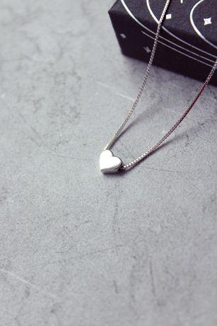 Ніжне срібне сердечко