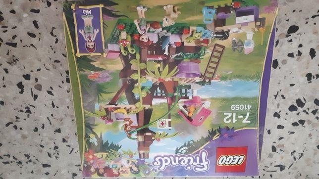 Lego Friends Domek na dzewie w dżungli 41059
