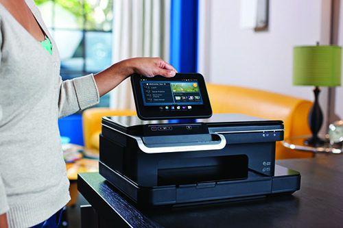 Шикарный фото HP PhotoSmart eStation C510 - МФУ с отделяемым планшетом