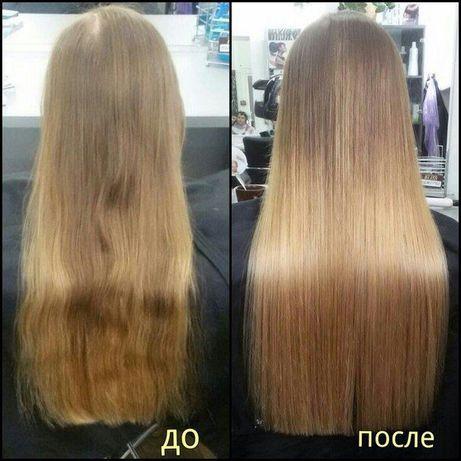 Полировка волос в салоне красоты метро Житомирская