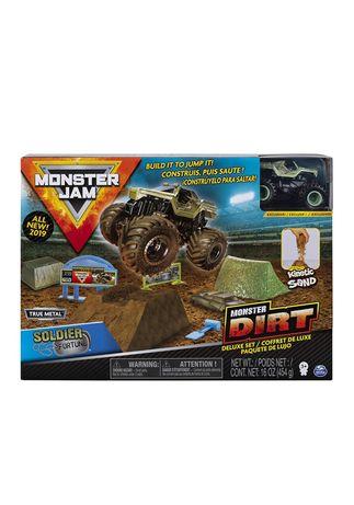 Игровой набор Monster Jam Dirt Soldier Fortune 1:64hot wheels