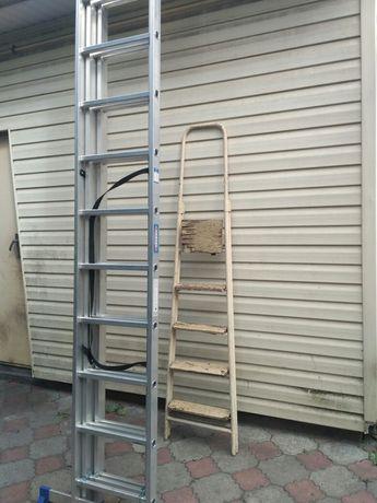 Аренда алюминиевой лестницы. 7.6 метра. 80 грн/сутки.