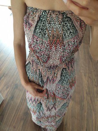 Sukienka maxi letnia zwiewna S