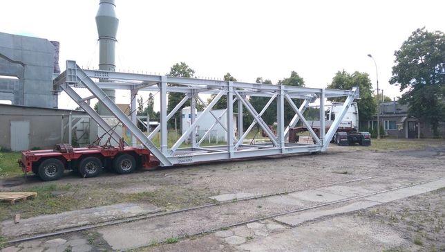 Transport gabarytów, maszyn budowlanych i rolniczych, niskopodwoziowy