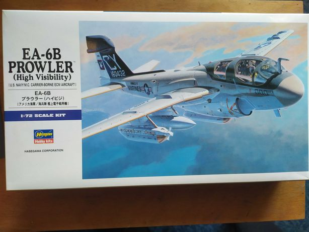 Модель самолёта EA-6B Prowler Hasegawa 1/72