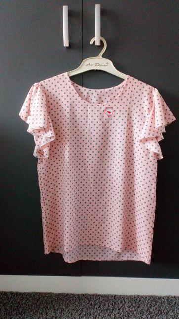 Stylowa lekka bluzka damska - NOWA, rozmiar XL
