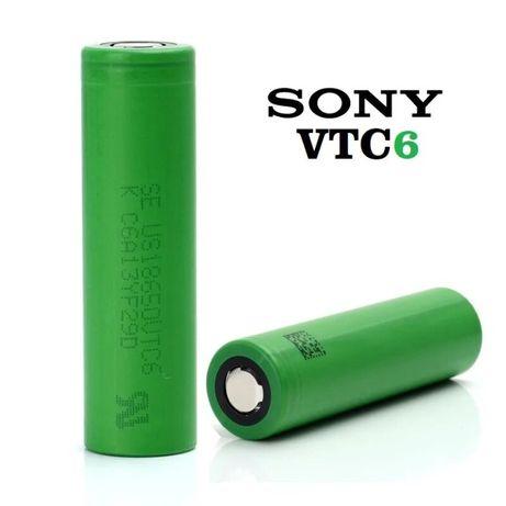 Аккумуляторы 18650 Sony VTC6; Samsung 25R, LG HG2 Оригинал