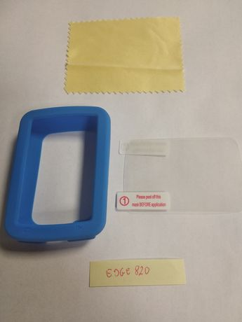 Edge 820 Etui silikonowe + szkło ochronne NOWE