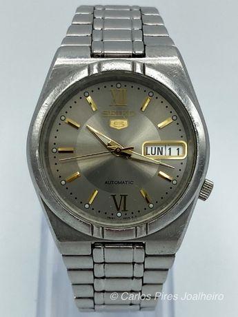 Relógio Seiko Silver Classic Automatic