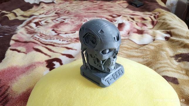 Терминатор, статуэтка, голова