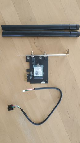 Karta sieciowa PCI tp-link archer t5e wifi 1200Mb/s bluetooth 4.2