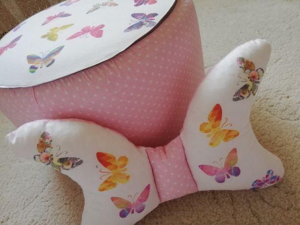 Pufa siedzisko motyle plus gratis