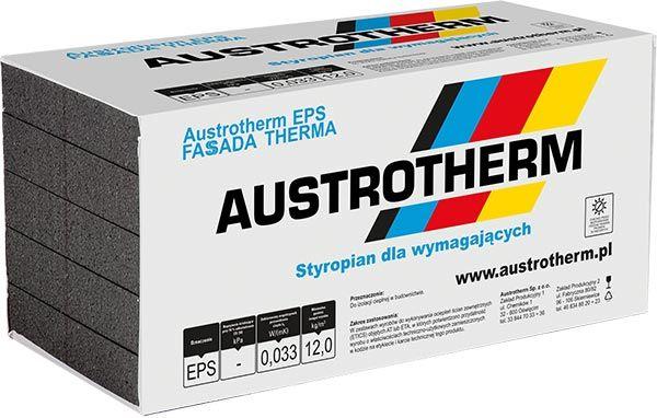 Austrotherm Fasada Therma 033 grafit styropian elewacyjny