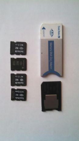 Продам пам'ять м2 та адаптери