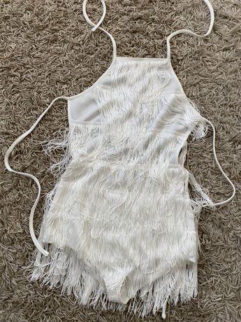 Продам платье с бахромой, бальное