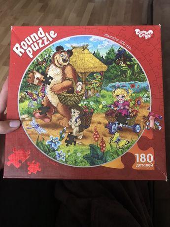 Круговой пазл. Round puzzle