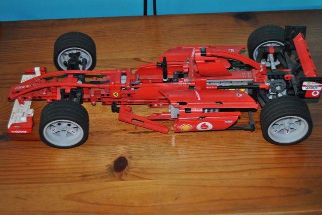 Lego Racers Ferrari F1 escala 1:10